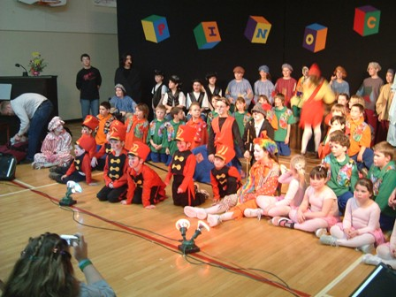 The Whole Cast After Performance
